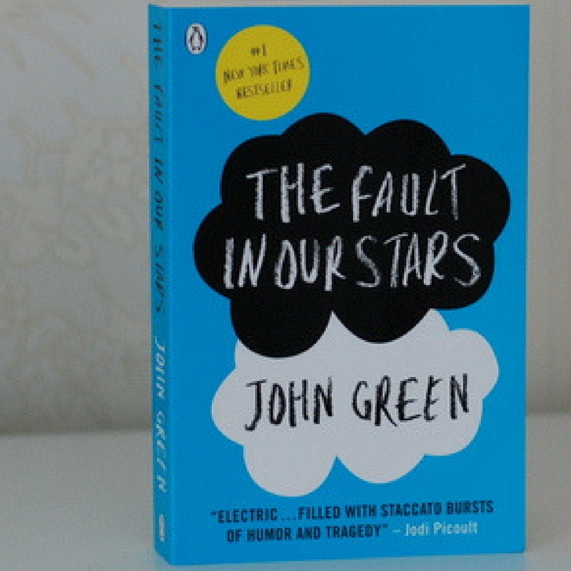 The Fault in Our Stars- Book Cover