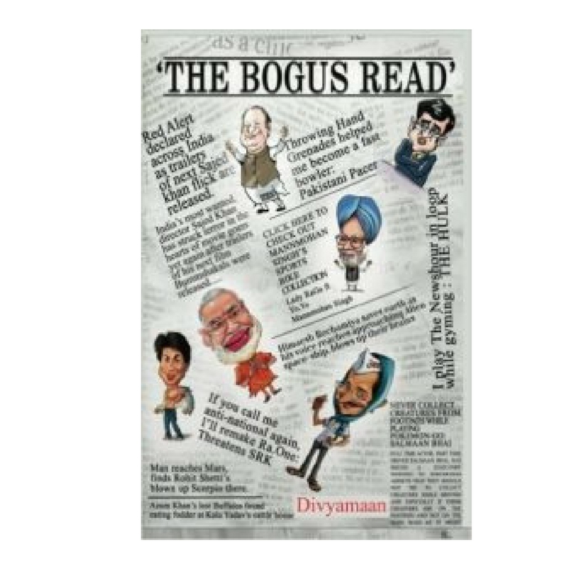 The Bogus Read- Book Cover
