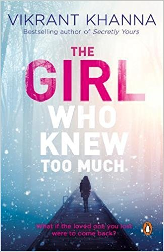 The Girl Who Knew Too Much- Book Cover