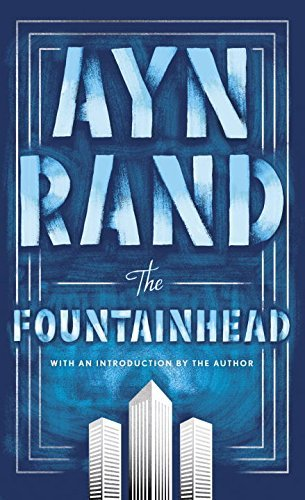 The Fountainhead by Ayn Rand- Book Cover