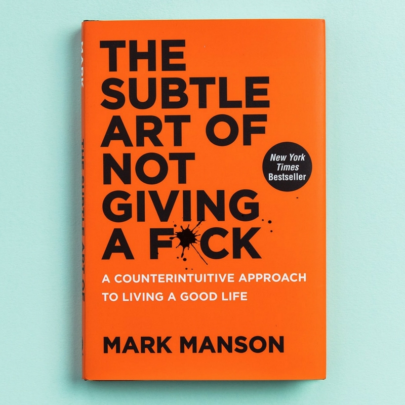 The Subtle Art of Not Giving A F*ck- Book Review