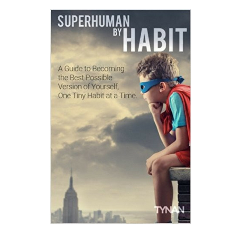 Superhuman by habit book cover