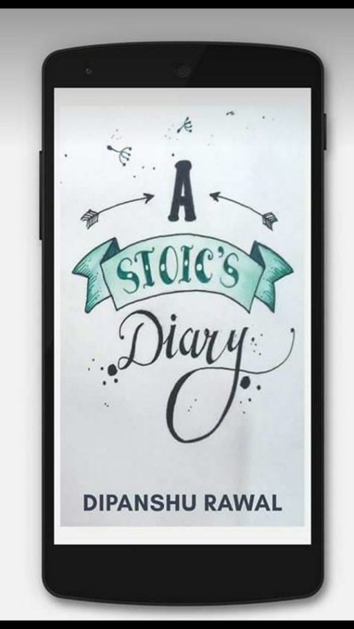A Stoic's Diary- Book Cover