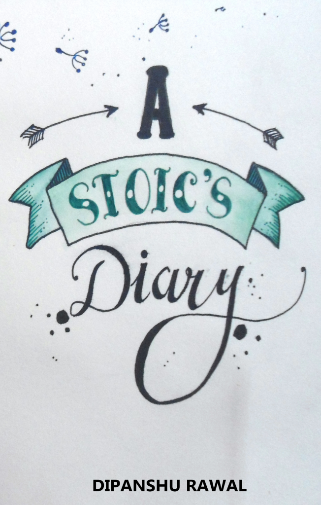 A Stoic's Diary: Book Cover