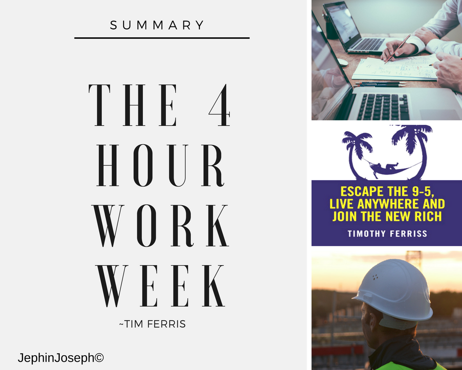 4-hour workweek book summary