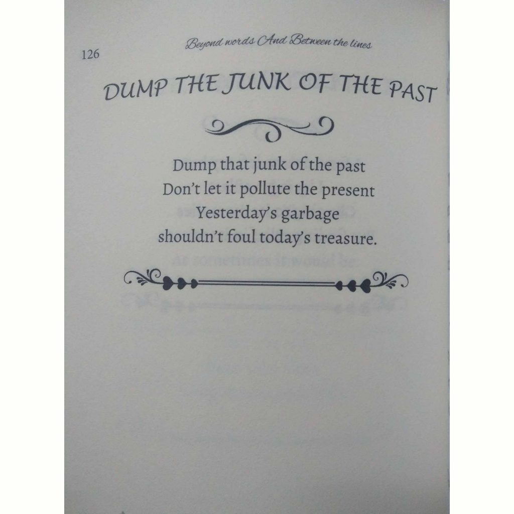 poem from beyond and between book
