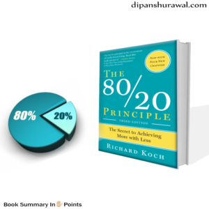 80 by 20 Principle by Richard Koch- book cover