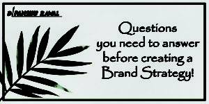 Brand strategy questions