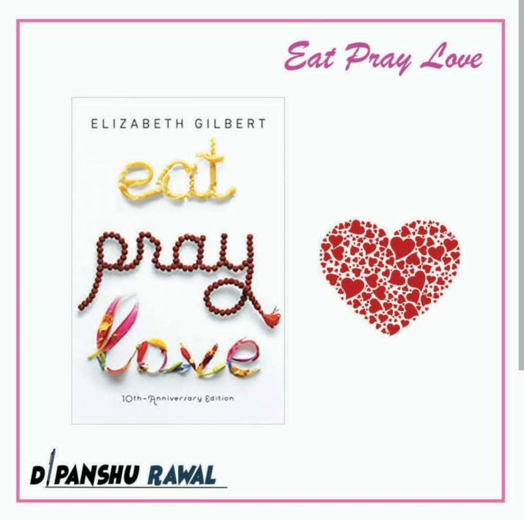 Eat Pray Love - Book Cover
