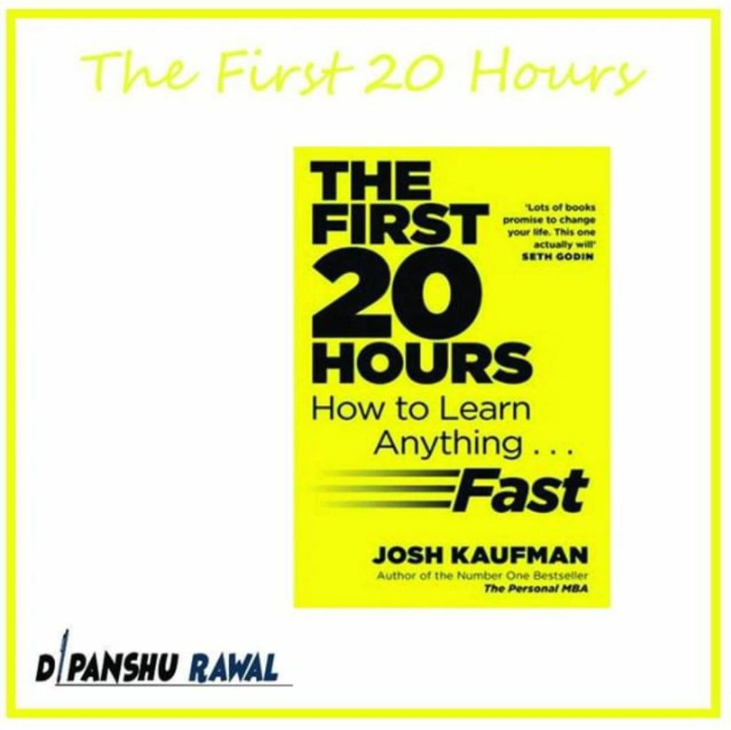 The First 20 Hours- Book Cover