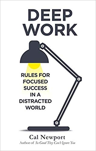 deep work - book cover