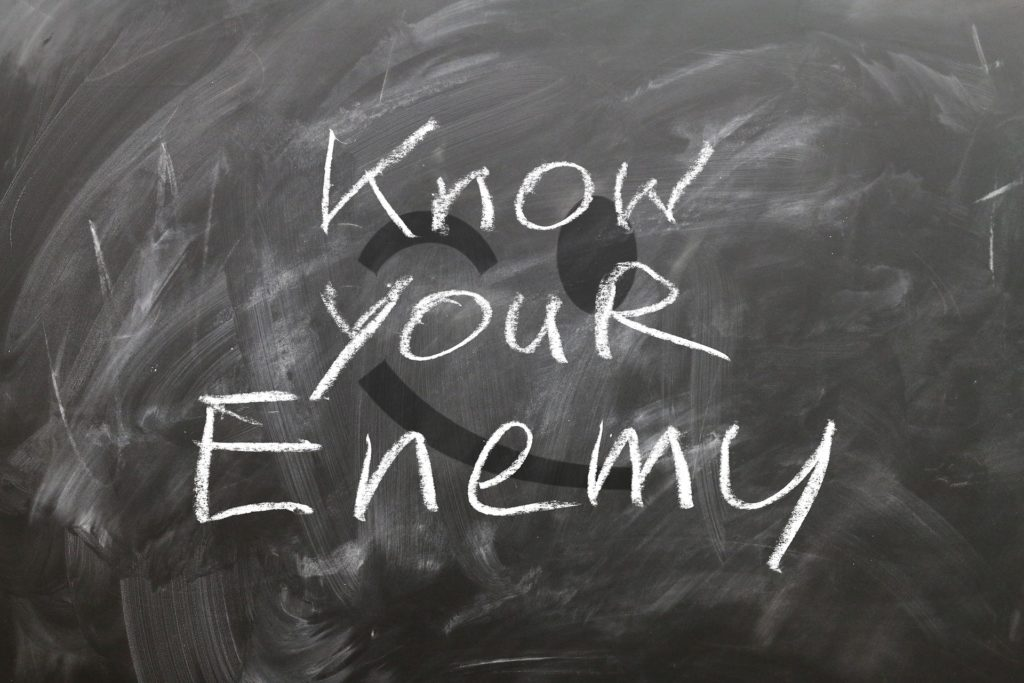 enemy- poster