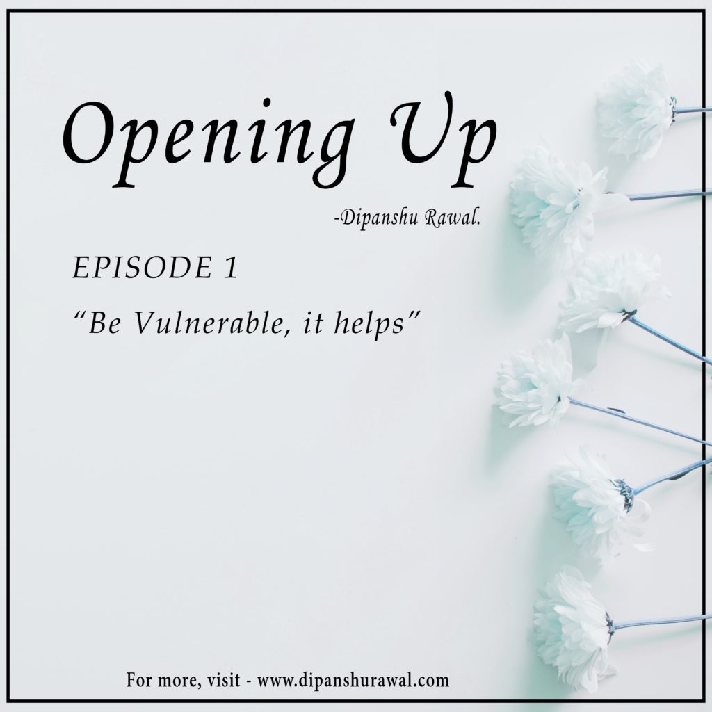 opening up - episode 1 cover