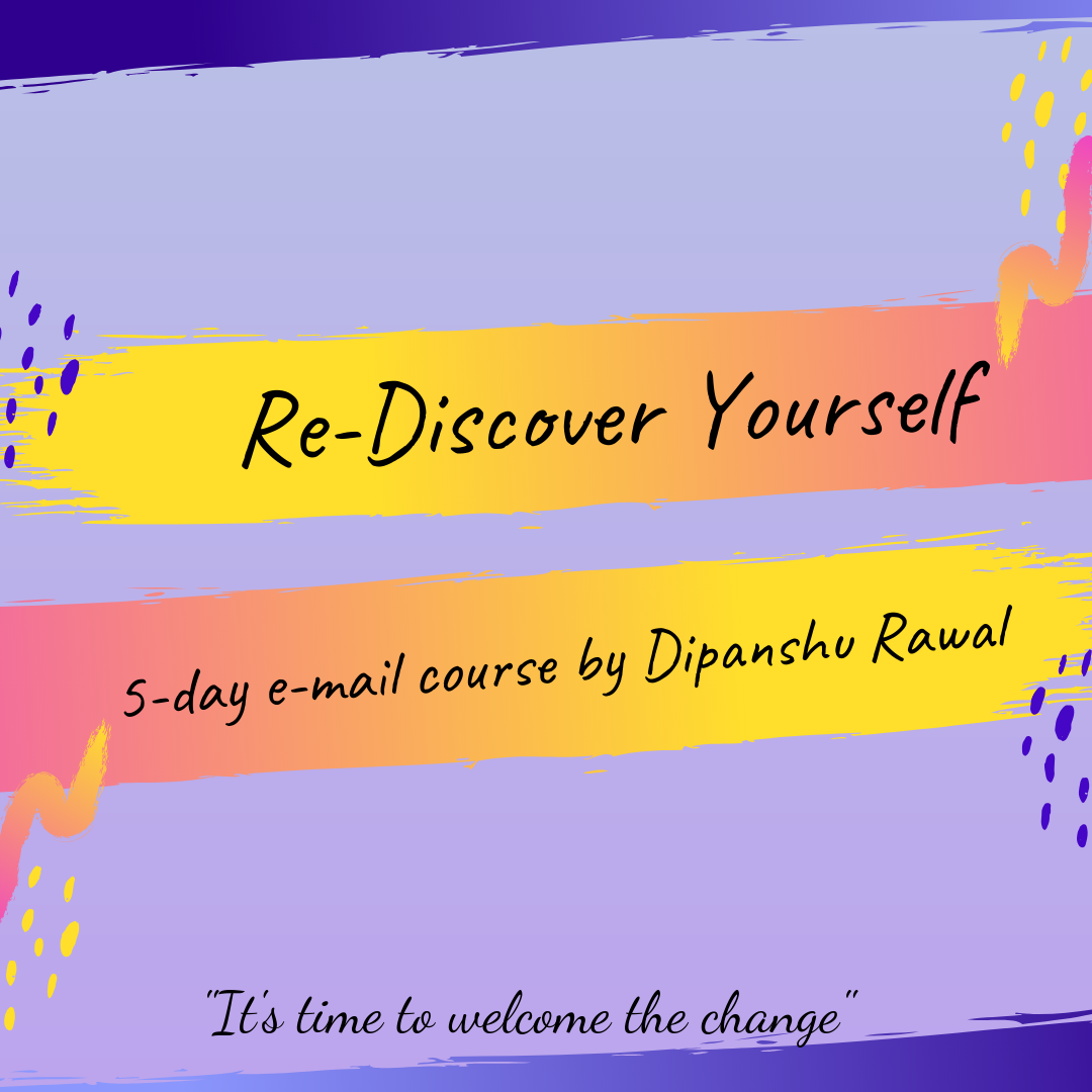 Re-Discover Yourself