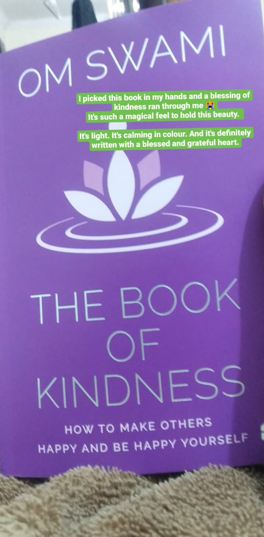 book of kindness - om swami - book cover