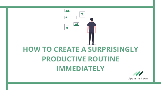 Routine blog cover